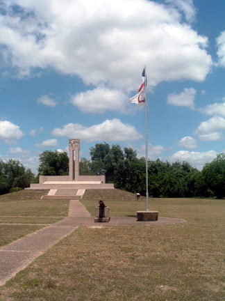 Photo of the Fannin Memorial